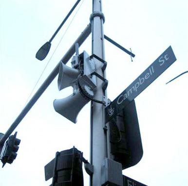 loudspeaker in sydney cbd